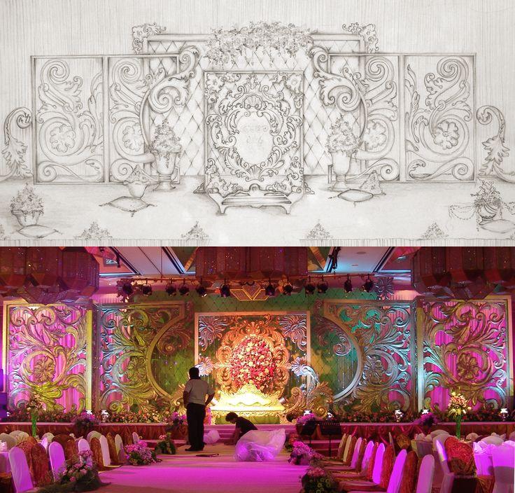 14 best best decor images on pinterest set design wedding arabic wedding decoration from planning to creation junglespirit Images
