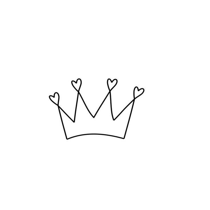 Delicate Crown Tattoo – – #smalltattoos