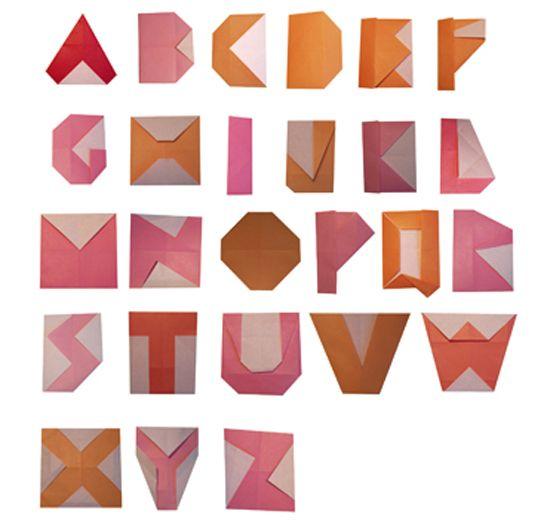 17 Best images about Paper Alphabets on Pinterest   Design files ...