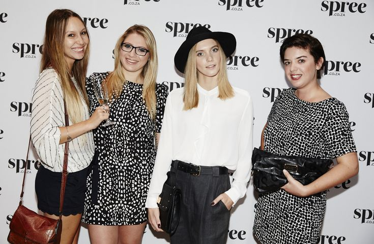 Last week as the Spree AW 2014 event . > For more BTS pics > http://www.mylifeinpink.co.za/?p=558