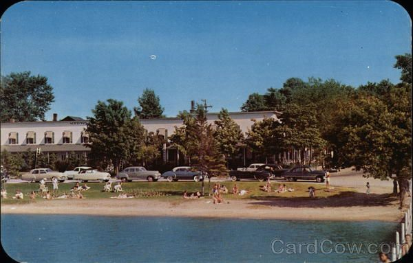 The Northway Hotel Beulah Michigan Pinterest Hotels
