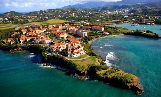 St George's University, Grenada | Community Post: 10 Uniquely Stunning College Campuses From Around The World