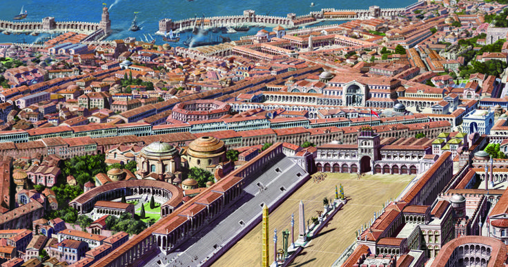 AMAZING! Reconstructions of CONSTANTINOPLE