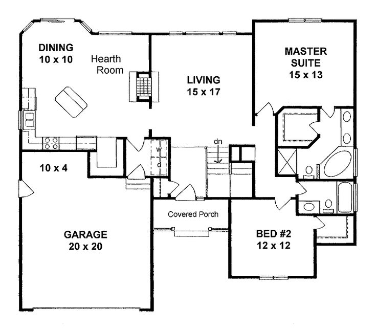 1500 square foot house plans open concept posts related to 1400 square foot house plans - 2br Open Floor House Plans