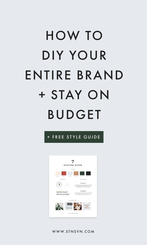 branding tips | branding identity | brand guideline | style guide | entrepreneur tips | small business marketing | social media marketing |