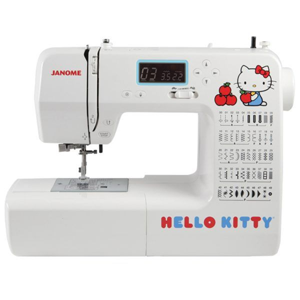 Janome Hello Kitty 18750 Sewing Machine