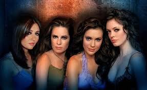 Shannen Doherty, Holly Marie Combs, Alyssa Milano, and Rose McGowan
