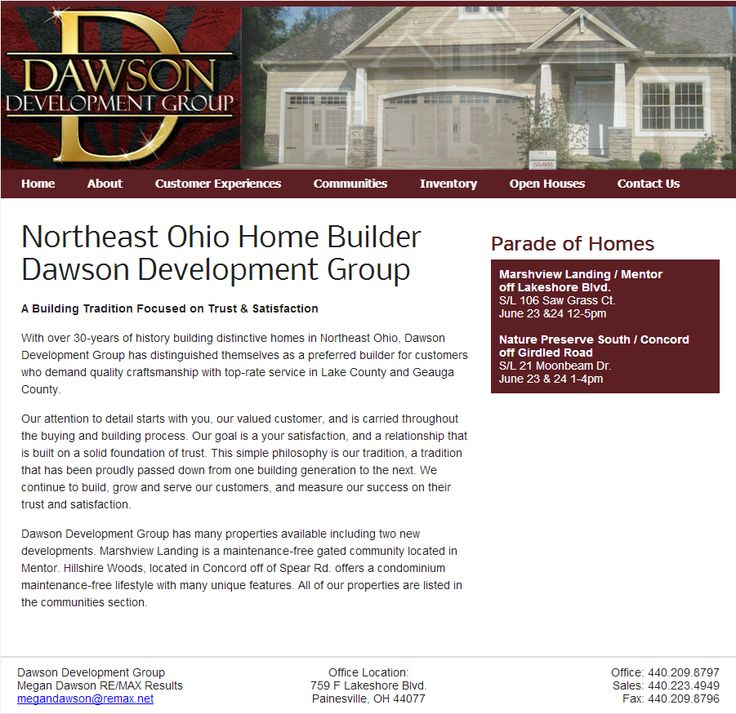 northeast ohio home builder, lake county home builder, geauga county home builder --> http://dawsongrp.com