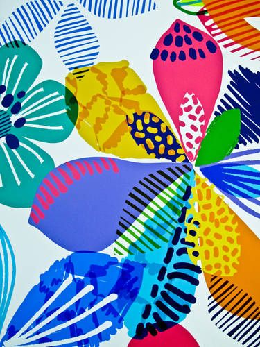 Textile Design by Karma Prints and Artwork