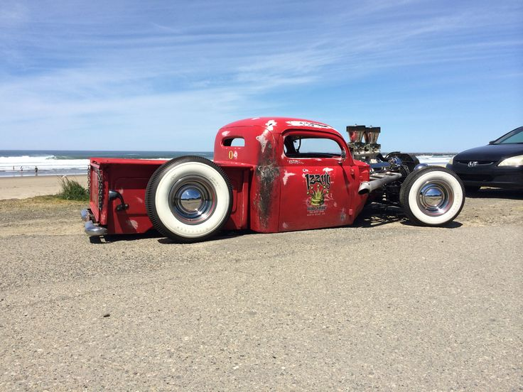 Chopped, sectioned and bagged 1948 Ford F1 shop truck ...