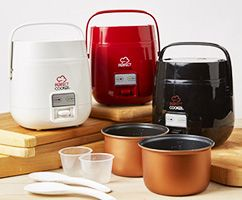 Perfect Cooker | The Portable Perfect Cooker cooks rice & grains easily in minutes