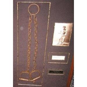 Harry Houdini's Shackles Disclosure Affiliate Link