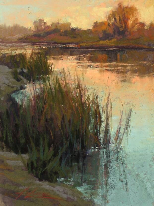 """""""Tranquil Waters"""" Kim Lordier"""