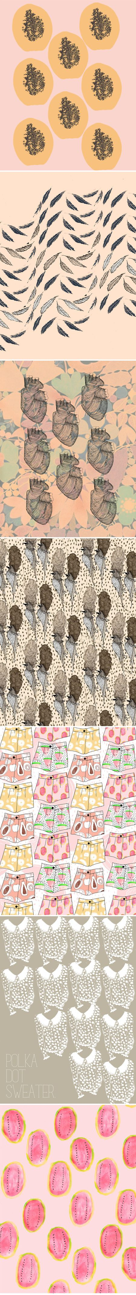patterns by kendra dandyArtists, Jealous Curator, Pattern Design, Prints Design, Dandy Pattern, Painting Colors, Kendra Dandy1, Pattern Art, Surface Design