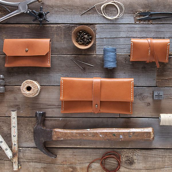 Stitch  Hammer's handmade leather goods.