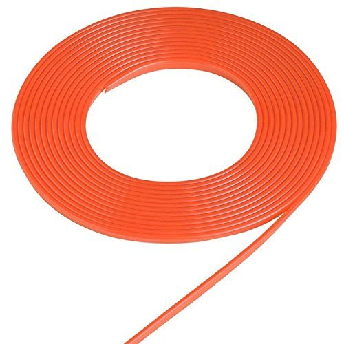 3D DIY Car motor Interior Exterior Decoration Moulding Trim Strip line by NERLMIAY (5M Orange)  [the Strong viscosity] our products is belongs to the Strong glue.Once the joint.Can keep 3 months.Don't fall off. We only sell the high-quality strong adhesive 3M glue tape.For normal glue tape,price is much cheap but quality is poor.Easy to get off from the surface that adhered to Price based on meter.  [Blue/Orange/Red interior trim] - Car Trim Enduring Character Color,Embedded Mounted in...