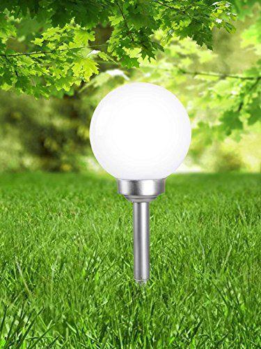 LED lampe solaire avec piquet wegelampe Lampe solaire extérieur ...