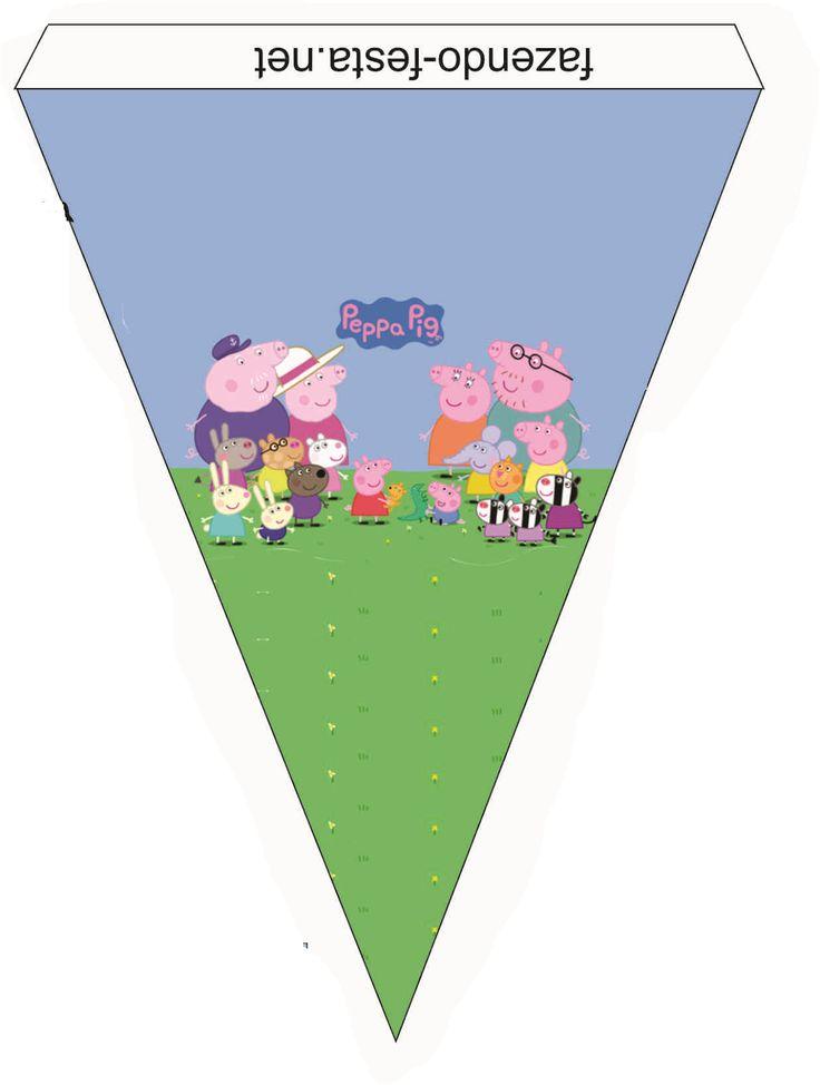 Mini Kit de Peppa Pig para Imprimir Gratis.   Ideas y material gratis para fiestas y celebraciones Oh My Fiesta!