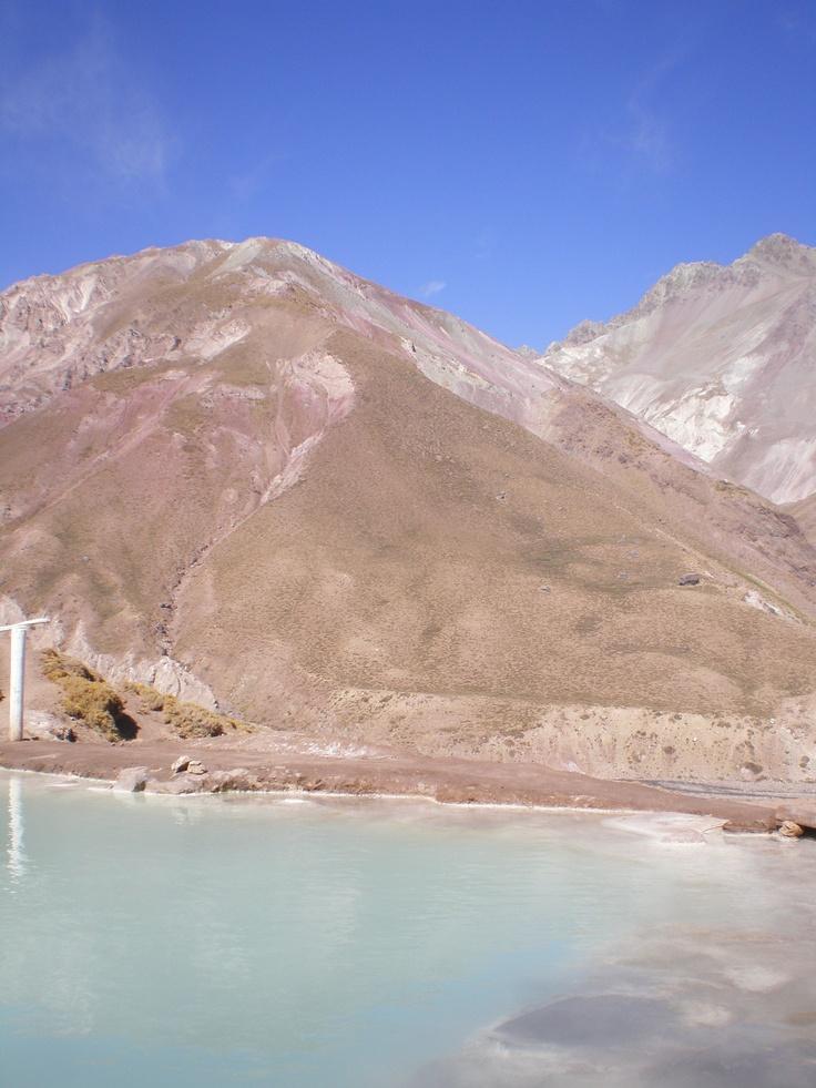 Colina's hot spring (Cajón del Maipo)