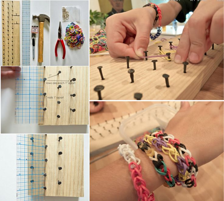 DIY-Rainbow-Loom-Board  If you have ANY business and need some social media marketing tips, join Victory100! Free to try our marketing platform for a month and then upgrade for as little as $10/mo http://vivtory100.com/fijmaluijk