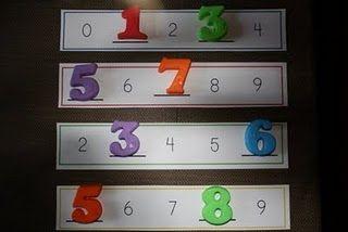 El nombre desaparegut (nombres de foam o plàstic) / that missing number