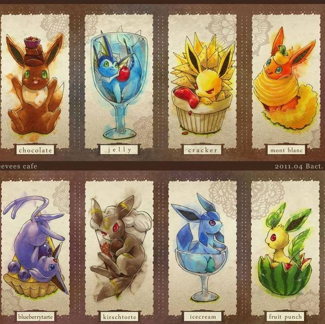 What eevee evolution are you?? I got leafeon!! I think it's so cute!