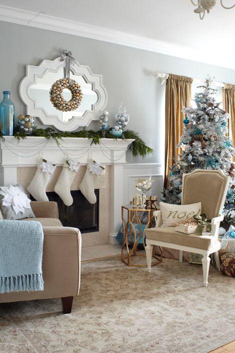 25+ unique Blue christmas decor ideas on Pinterest | Christmas ...