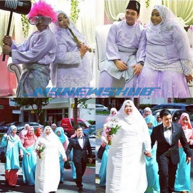 Gambar Pasangan Pengantin Melayu Unik Ini Jadi Viral  KEINDAHAN cinta pasangan pengantin baru ini mencuri perhatian netizen di apabila gambar perkahwinan mereka menjadi viral menerusi laman sosial Facebook. Sememangnya setiap insan dicipta untuk...