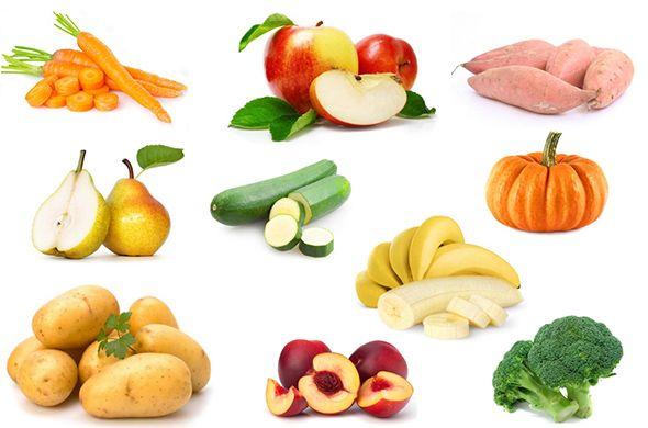 Les premiers aliments pour bien débuter la diversification alimentaire de bébé.