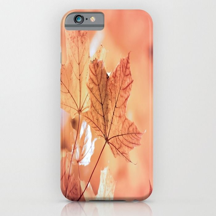Acer leaves in fall iPhone & iPod Case