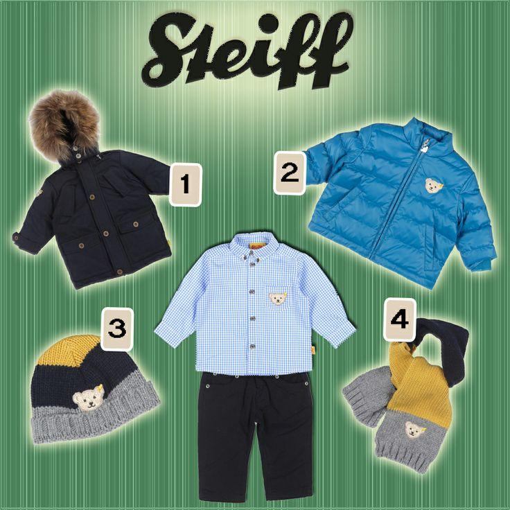 Steiff Mini Street Cowboys temasının bu harika pantolon ve gömleğini sizce hangileriyle kombinlemeli :)