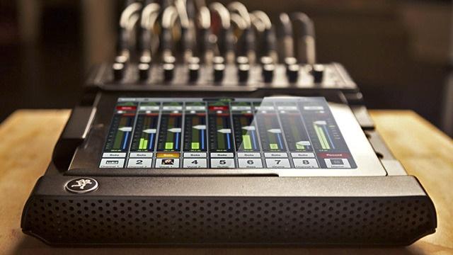 The iMackie? Mackie mixer + iPad. Too cool.
