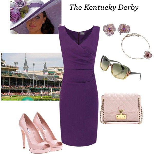 Kentucky Derby, created by kalliopaki on Polyvore