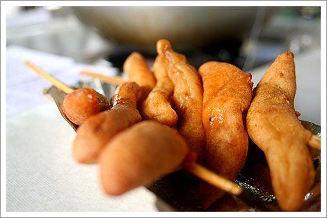 Kikiam on stick | Filipino Street Food | Pinterest | Sticks