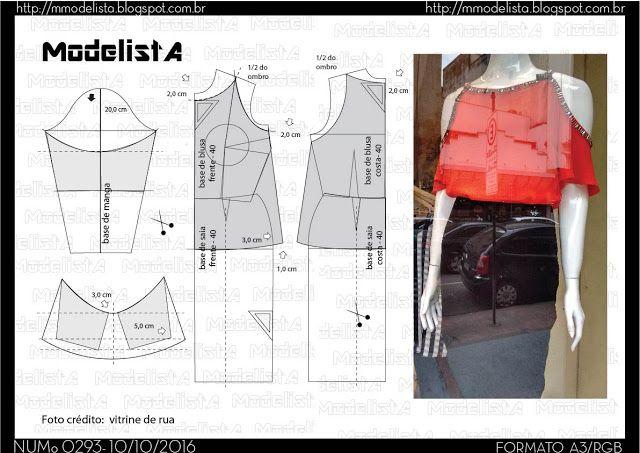 ModelistA: A3 NUMo 0293 TOP CUT OUT cold shoulder top