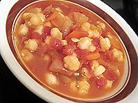 Although this quick and easy posole soup recipe is both vegetarian and vegan, traditional Mexican posole soup is almost never vegetarian! Though this vegetarian posole recipe may not be quite as authentic as others, you'll find that the combination of peppers, hominy, chili and cumin lends it a satisfying and authentic Mexican flavor.