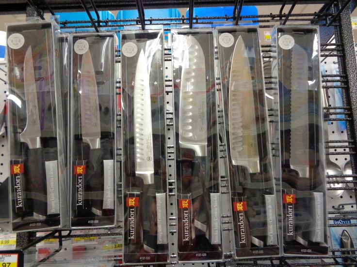 wide variety of knives and knife sets in stock