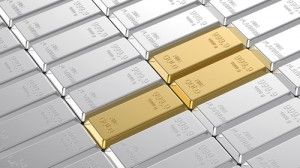 Gold edged higher on Friday and was on track to end the week little changed as the dollar turned lower after another batch of weak U.S. data, but stronger equities put the brakes on a rally that had taken prices to 3-1/2 month highs.