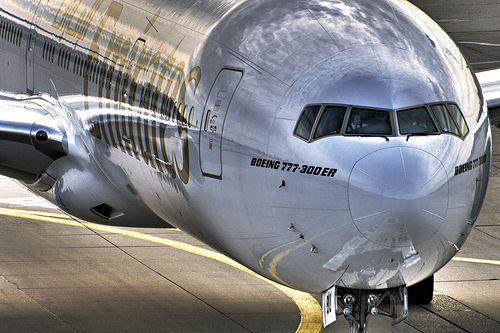 Emirates Boeing 777-300 by Jörg Dickmann, via Flickr