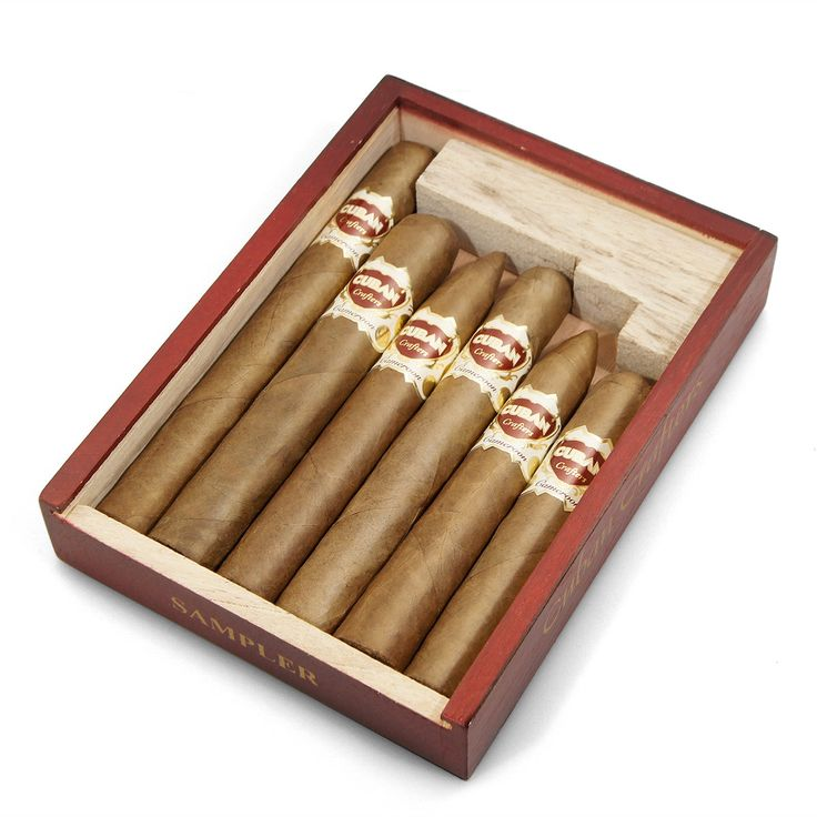 CubanCrafters - Cameroon Cigars Sampler - Cuban Crafters 6 Cigar Samplers In A Cedar Gift Box, $29.99 (https://www.cubancrafters.com/cigars-by-cigar-brand/cameroon-cigars-sampler-cuban-crafters-6-cigar-samplers-in-a-cedar-gift-box/)