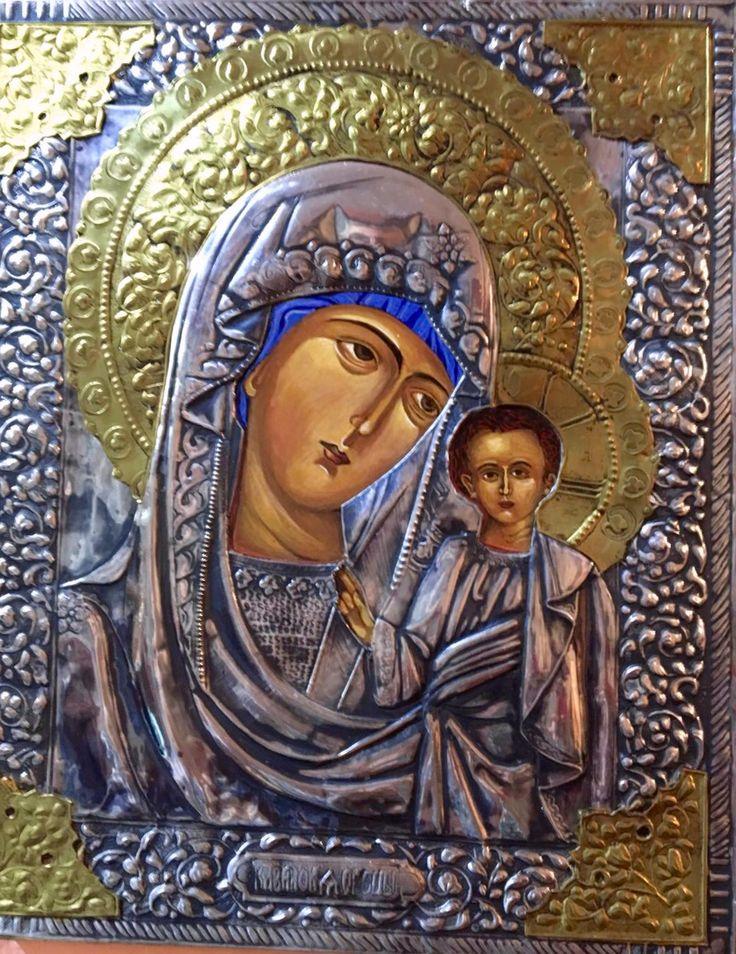 Icono Vizantino hecho a mano
