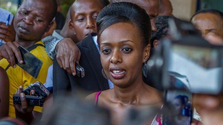 Rwandan police arrest Diane Rwigara, family members