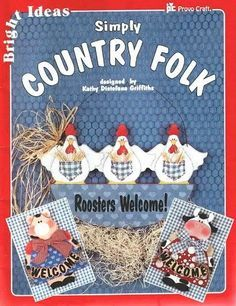 # Simply Country Folk (free online patterns & instructions)