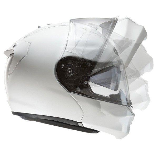 Casco moto modulare bianco fibra carbonio HJC RPHA MAX Evo Metal /...