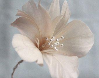 Как сделать перо цветы, 3FeatherFlowers, перо цветок учебник, DIY волосы венок, перо букет, букет DIY, DIY домашнего декора, свадебные