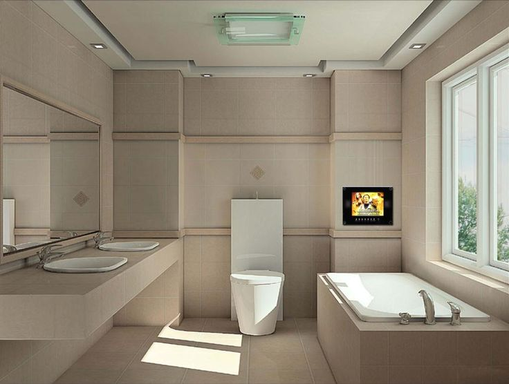 Modern Bathroom Tv Designs 1 Jpg 1024 774