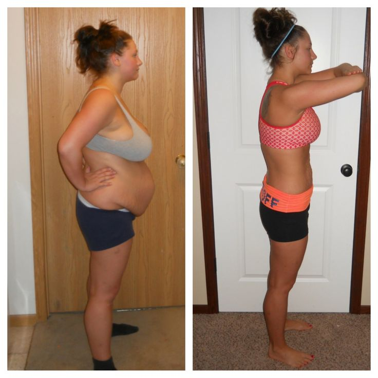 Omg, results of Insanity workout! This girl is only 25, freakin crazy!