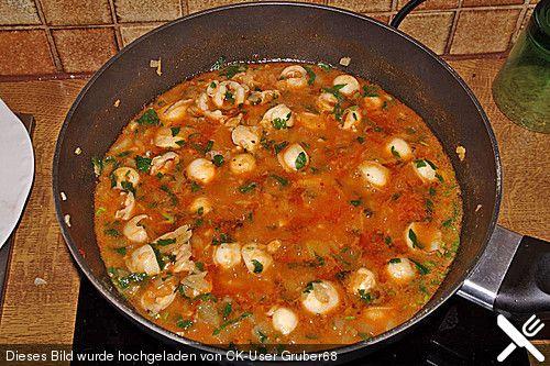 Tintenfische auf venezianische Art, ein leckeres Rezept aus der Kategorie Krustentier & Muscheln. Bewertungen: 1. Durchschnitt: Ø 2,7.