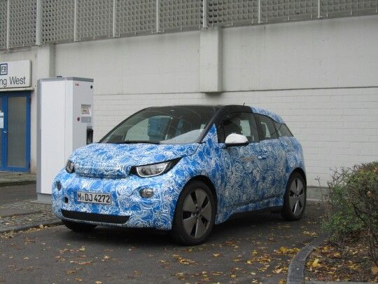 Bmw i3 at the plant
