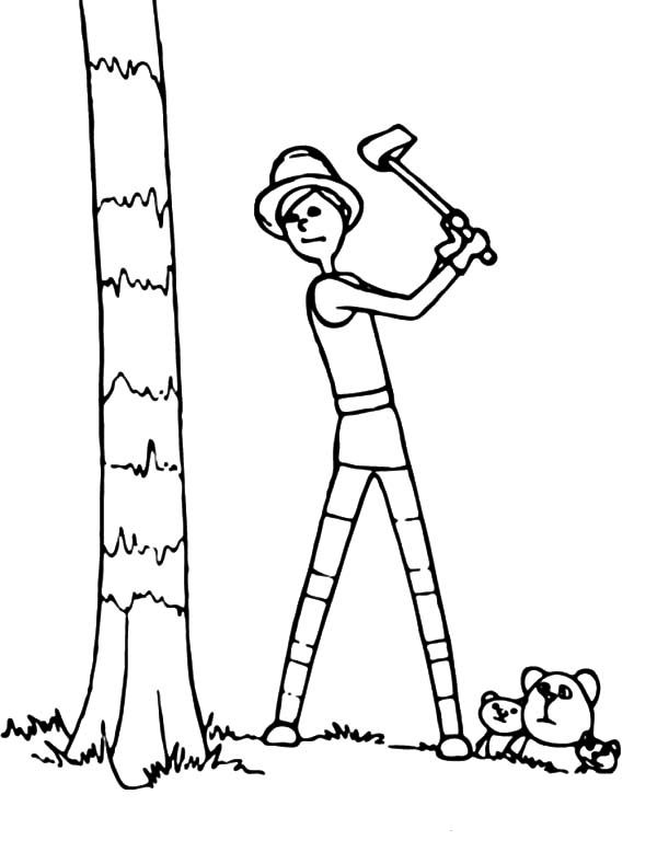 Lorax Coloring Pages Tree Coloring Page The Lorax Coloring Pages